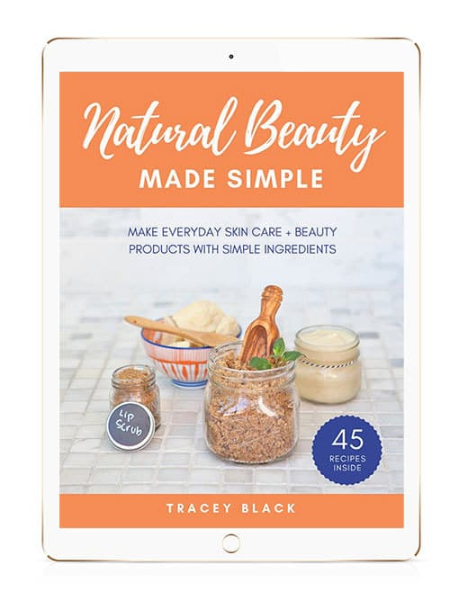 Natural Beauty Made Simple Book on an e reader
